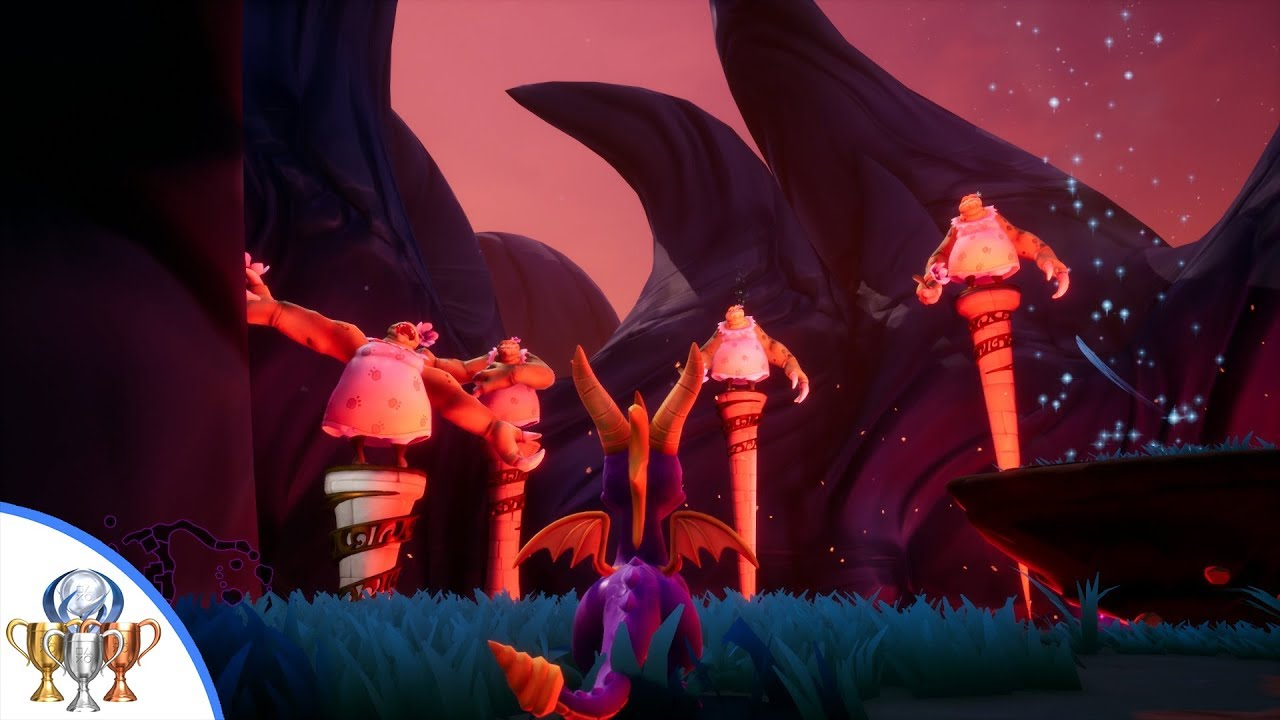 Download Spyro the Dragon - Jacques-tacular Trophy Guide - Defeat 4 Nightmare Beasts in one glide