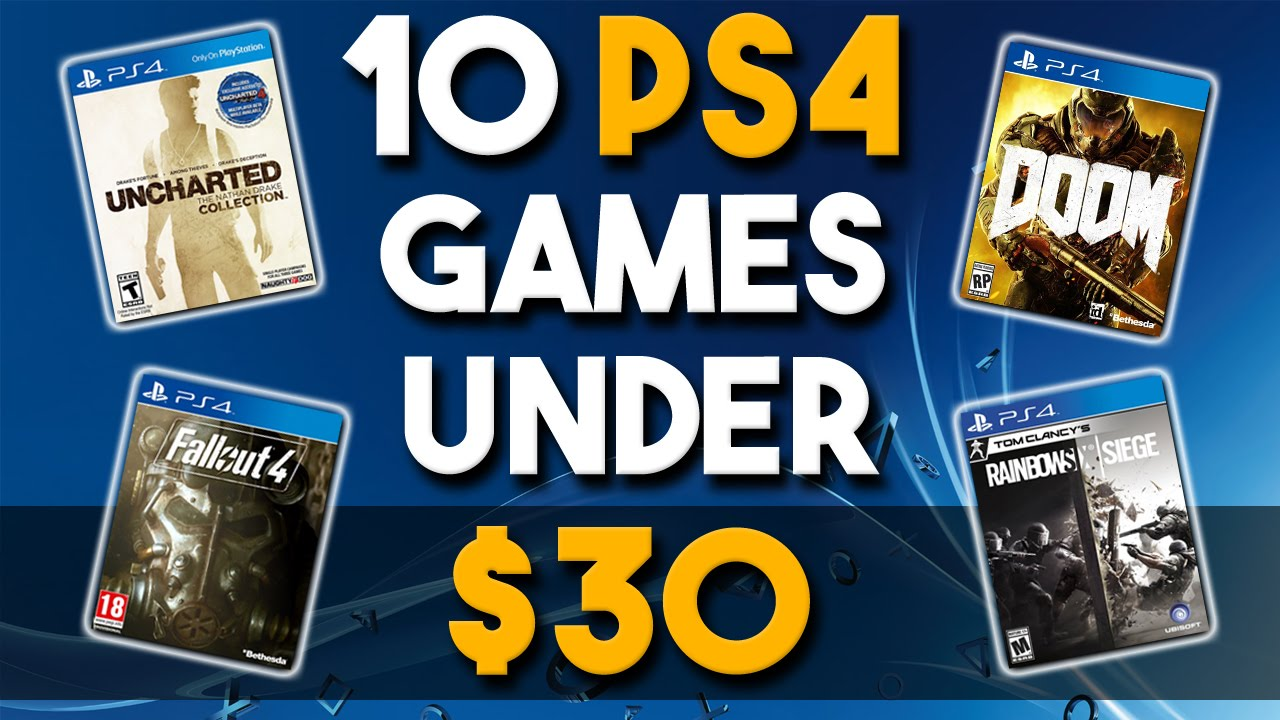 10 Awesome PS4 Game Deals Under $40   Best Playstation 4 ...