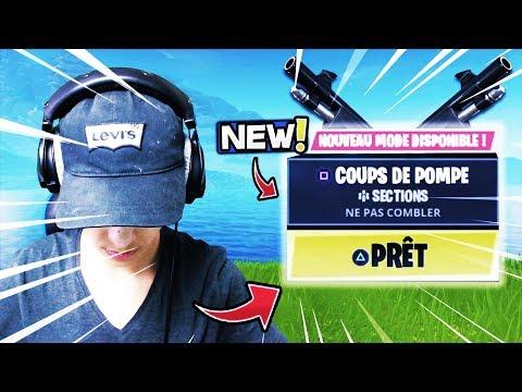 🔴GEMI - NOUVEAU MODE *COUPS DE POMPE* GO FULL TOP 1 ! Fortnite Gameplay Fr ✔️