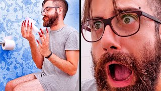 THE TRUTH ABOUT BEING A WOMAN || GUY TRIED GIRL'S LIFE FOR A DAY