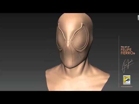 Spider-man Speed Sculpting - Mudbox