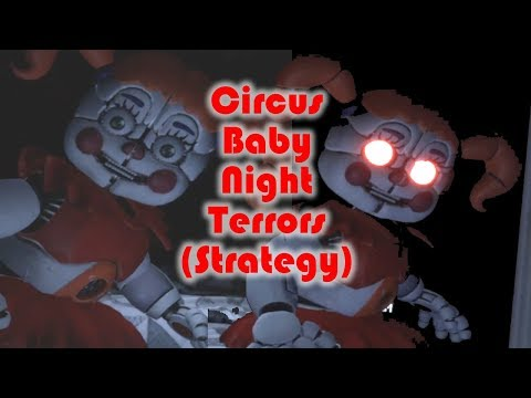 Circus Baby Night Terrors Level Strategy - FNaF VR: Help Wanted