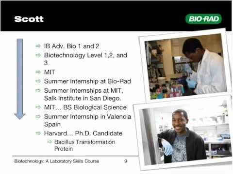 Implementing a Skills-Based Biotechnology Program