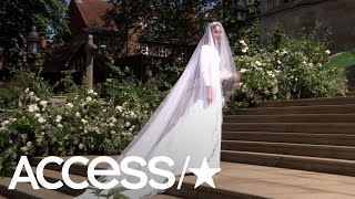 Meghan Markle Arrives At The Royal Wedding: See Her Stunning Givenchy Gown | Access
