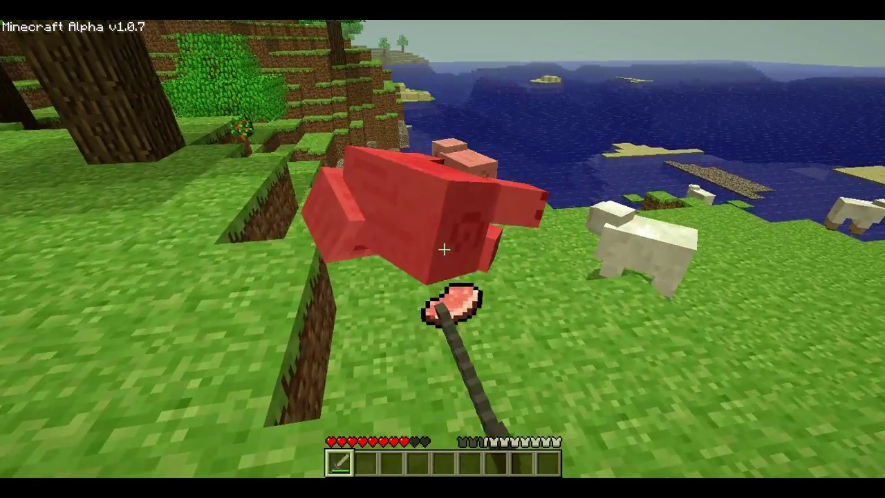 Minecraft Alpha 1 0 7 Gameplay 2010 Youtube