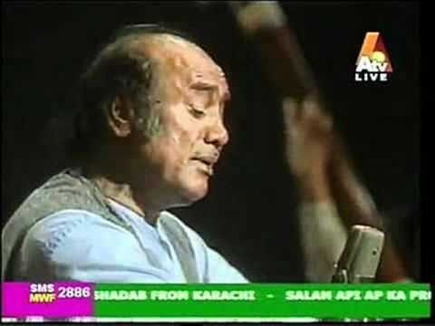 Mehdi Hassan Live In Canada....Gulon Mein Rang Bhare