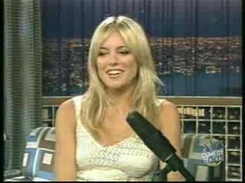 Sienna Miller, first TV interview, 2003