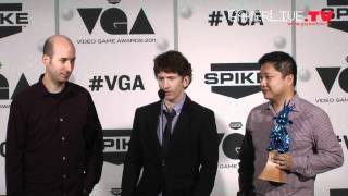 Video Game Awards 2011_ Elder Scrolls V_ Skyrim Developers Talk About Game of the Year Win Backstage
