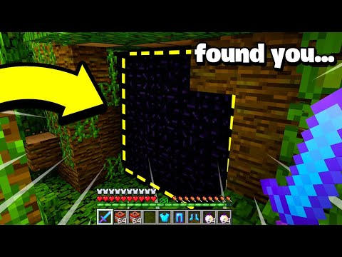 I Couldn't Raid This Camouflaged Minecraft Base..but Then I Saw Blocks Missing!