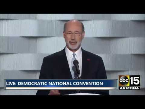 FULL: Governor Tom Wolf - Democratic National Convention