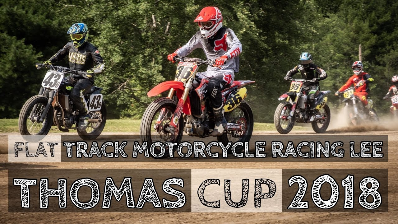 Flat Track Motorcycle Racing Lee Thomas Cup 2018