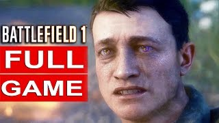 Game | BATTLEFIELD 1 Gameplay Walkthrough Part 1 FULL GAME 1080p HD 60FPS BF1 Single Player No Commentary | BATTLEFIELD 1 Gameplay Walkthrough Part 1 FULL GAME 1080p HD 60FPS BF1 Single Player No Commentary