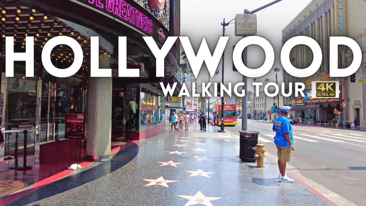 Hollywood California Tour 2021