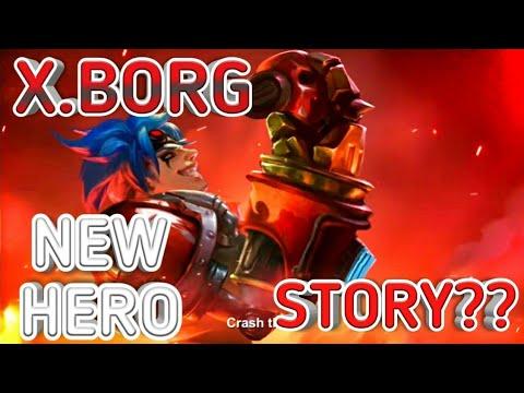 x borg new hero short story mobile legend bang bang