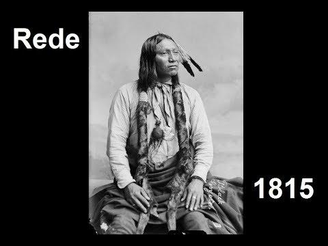 Indianer: Rede des Häuptlings