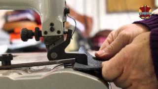 Fabrication d'un étui en cuir pour téléphone