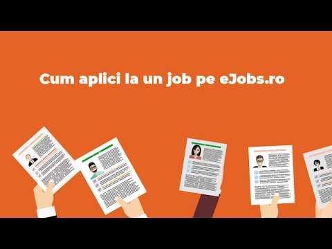 Cum aplici la un job pe eJobs.ro