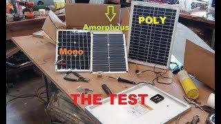 Test 20 watt Solar Panels under $30, Which one is best?