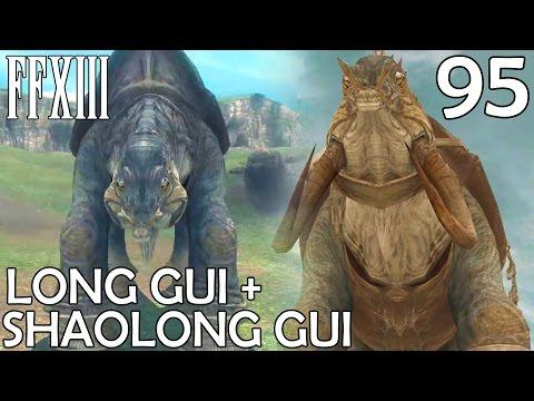 Final Fantasy XIII PC Walkthrough Part 95 - Shaolong Gui & Long Gui (Final Part)