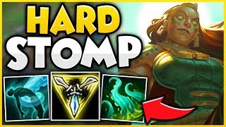 THE EASIEST WAY TO HARD STOMP ANYONE WITH ILLAOI! (LEGIT WIN EVERY LANE) - League of Legends