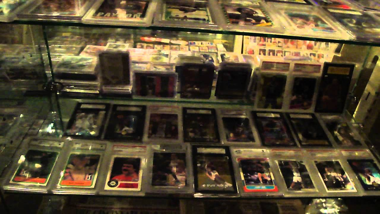 SPORTS MEMORABILIA MAN CAVE MUST SEE PLEASE COMMENT YouTube