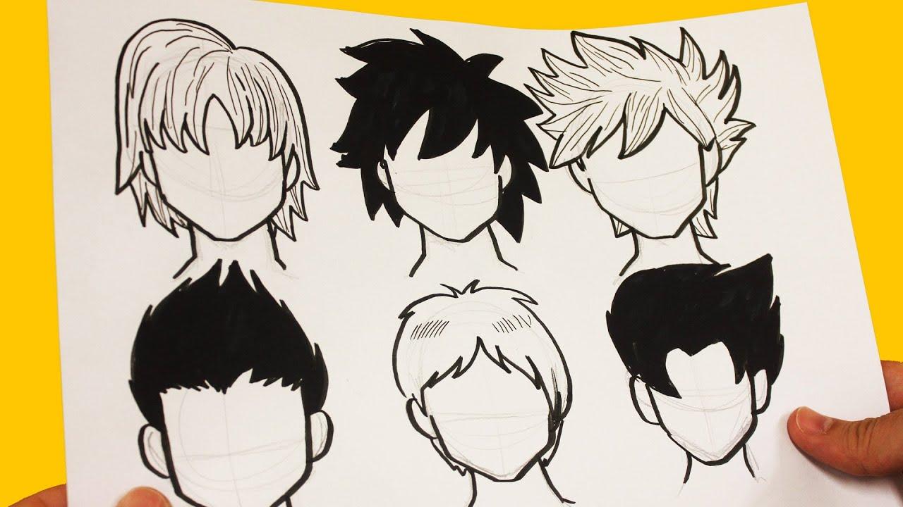 Como Dibujar Cabello Anime Como Dibujar Cabello Manga How To