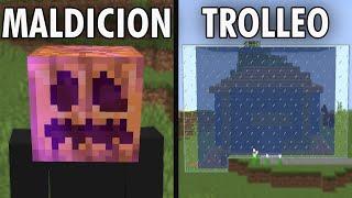30 FORMAS de MOLESTAR a tus AMIGOS en Minecraft