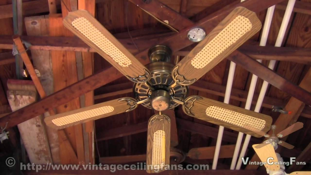 Moss heirloom deluxe antique brass ceiling fan version 2 youtube audiocablefo