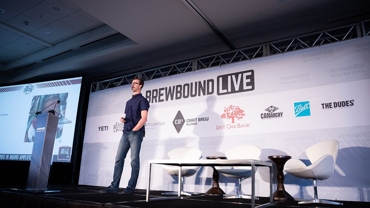 Chad Melis Speaks PR at Brewbound Live Winter 2019