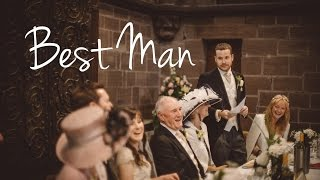 Best Man Speech | Jenny & Ed's Wedding | 7.8.15(Joseph Hartwell Jones doing his Best Man speech for Jenny and Ed's Wedding. Venue - Chester Cathedral Chapter House., 2015-08-13T09:57:58.000Z)