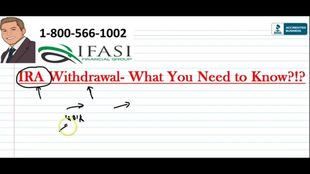 IRA Withdrawal - IRA Withdrawals