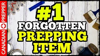 The #1 Forgotten Prepping Item!