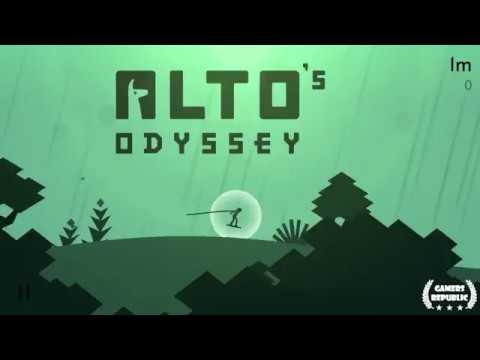 Alto's Odyssey | Skim across a water pool