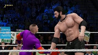 WWE2K17 - CARMELLA Y BESTIAGETTA!!!!!!!!!!!!!!!!!!
