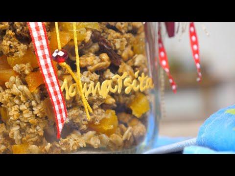 Σπιτική Γκρανόλα (χωρίς ζάχαρη) - Mamatsita
