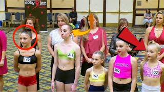 Dance Moms-Abby Auditions Brynn, Sarah, + Candy Apple Members