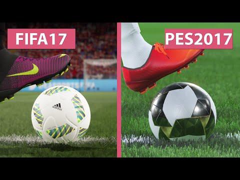 FIFA 17 Demo vs. PES Pro Evolution Soccer 2017 – Graphics Comparison on PS4