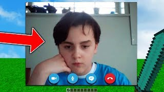 ANGRY KID CALLS ME ON SKYPE AFTER I TROLLED HIM...