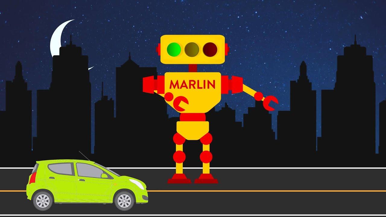MARLIN Smart Traffic Lights that Learn - YouTube