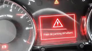 استفسار - defaut ABS ESP Frein parking - الجواب تحت الفيديو