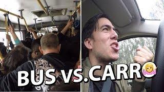 Ir en CARRO vs. Ir BUS | ¿Cuál es mejor?