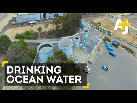 Drinking Ocean Water - The Largest Desalination Plant In North America