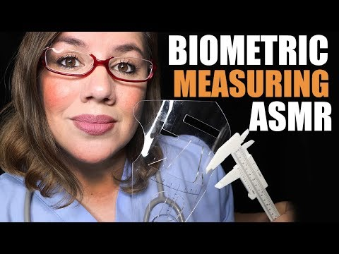 Inch by Inch Biometric Measuring 📏 ASMR Soft Talk and Typing