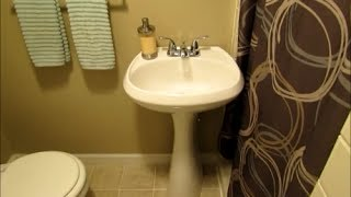 Bathroom Zone Cleaning   Spring Cleaning