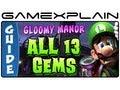 Luigi's Mansion 2: Dark Moon: All 13 Gems in Gloomy Manor - Guide & Walkthrough