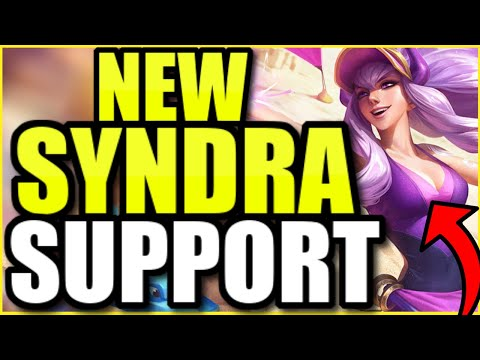 (NEW POOL PARTY SKIN!) Syndra Support is SEVERELY underrated...and she's making a splash in bot lane