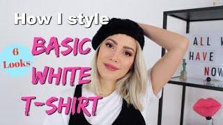 Basic White T-Shirt kombinieren |funnypilgrim