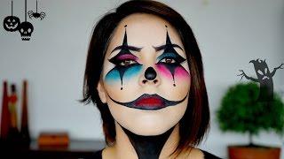 Maquillaje de Halloween - Payaso / Arlequín Malvado