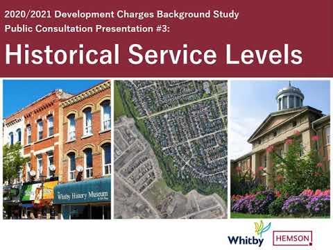 Presentation #3 - Historical Service Levels