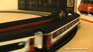 Model Train Running Session 3 (OO Gauge Hornby Class 43 HST